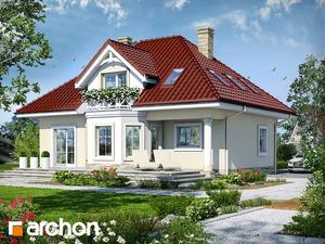 projekt Dom w szkarłatkach widok 2
