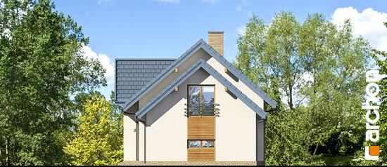 Elewacja boczna projekt dom w daktylowcach g2 ver 2  265