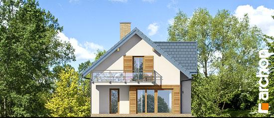 Elewacja boczna projekt dom w daktylowcach g2 ver 2  266