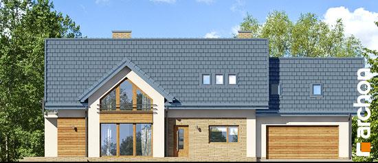 Elewacja frontowa projekt dom w daktylowcach g2 ver 2  264