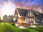 projekt Dom w daktylowcach (G2) dodatkowa wizualizacja