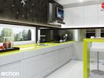 projekt Dom w daktylowcach (G2) Aranżacja kuchni 2 widok 2