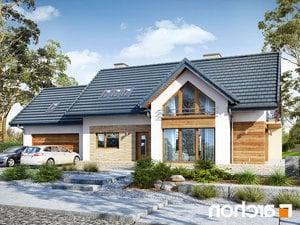 projekt Dom w daktylowcach (G2) lustrzane odbicie 1