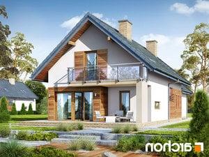 projekt Dom w daktylowcach (G2) lustrzane odbicie 2