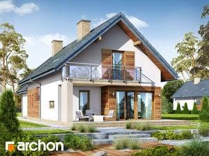 projekt Dom w daktylowcach (G2) widok 2