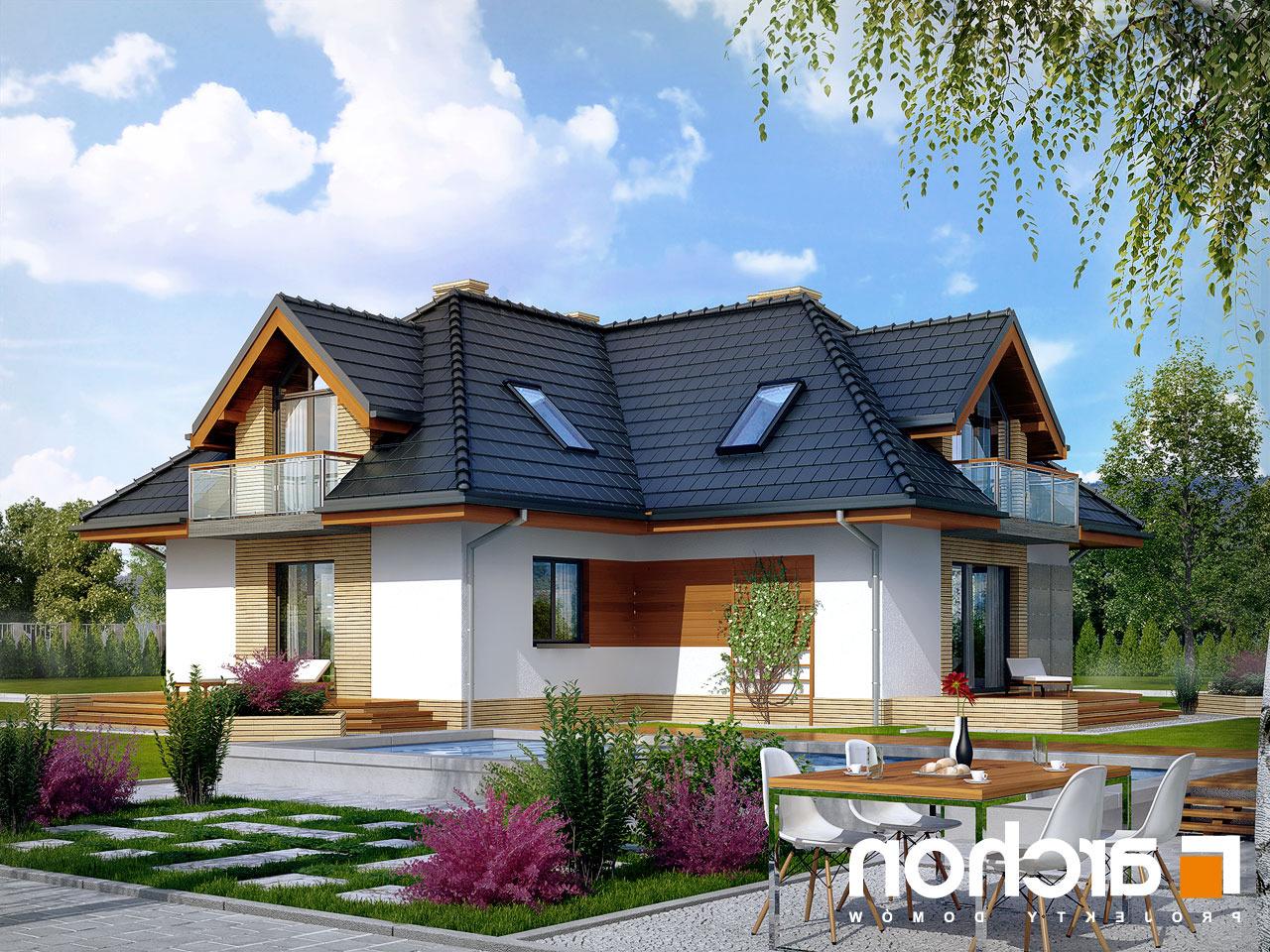 Projekt domu Dom w mniszkach - ARCHON+