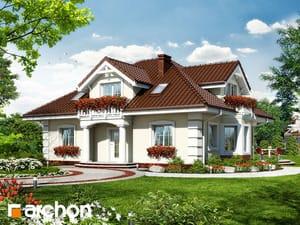 gotowy projekt Dom w jeżówkach