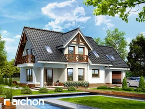 projekt Dom w żurawinie 2