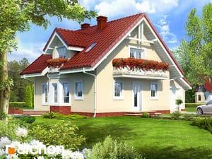 gotowy projekt Dom w rododendronach 4