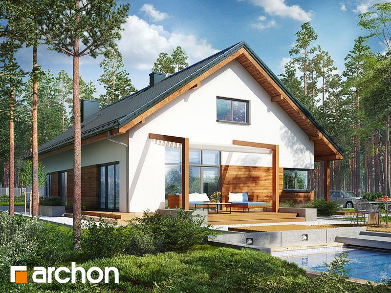 gotowy projekt Dom w mekintoszach 5 (G2) widok 1