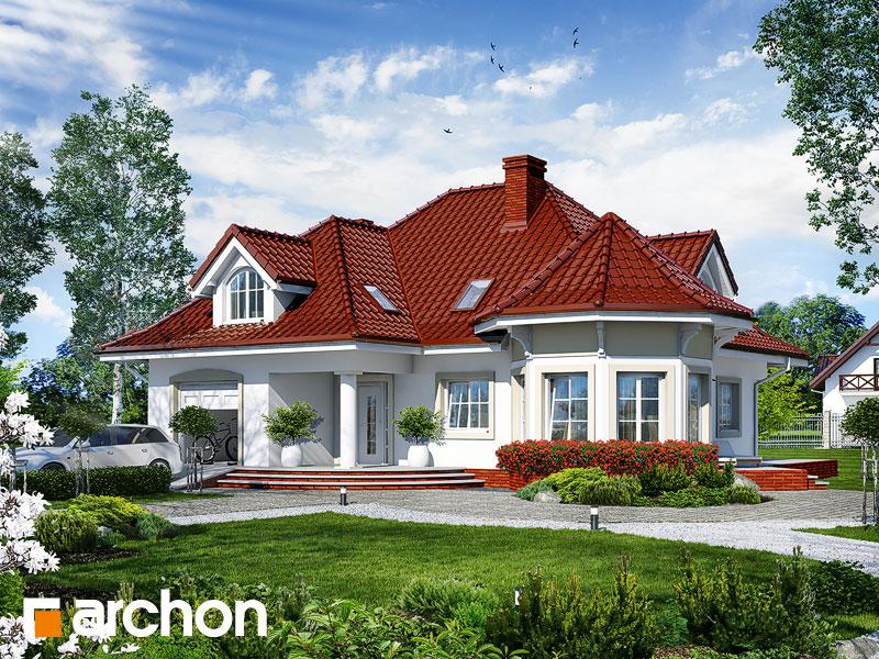 gotowy projekt Dom pod juką widok 1
