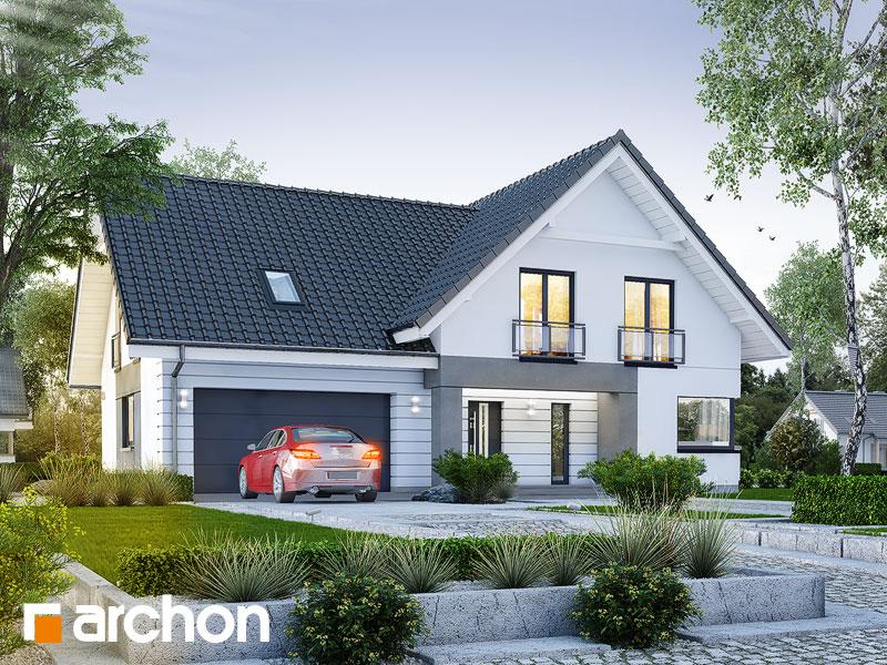gotowy projekt Dom w orliczkach (G2E) widok 1