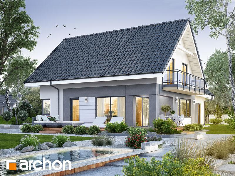 gotowy projekt Dom w orliczkach (G2E) widok 2