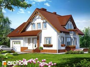 gotowy projekt Dom w tamaryszkach 2