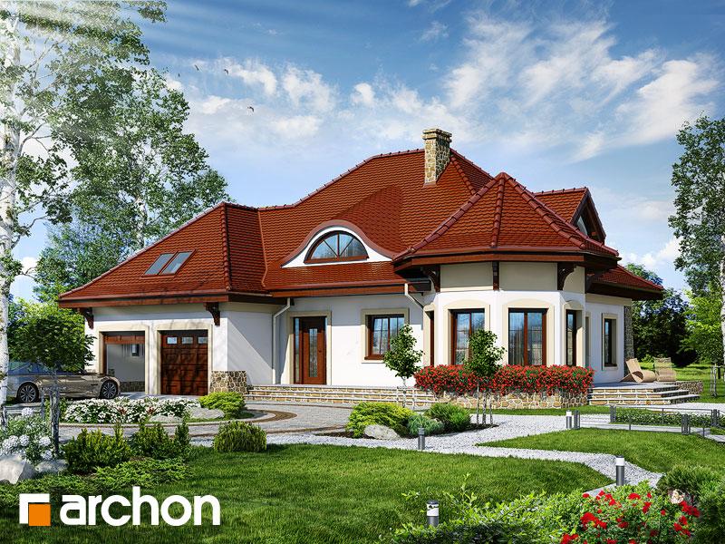 gotowy projekt Dom pod juką 2 widok 1