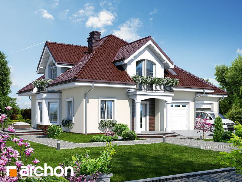 gotowy projekt Dom w tymianku 2 widok 1