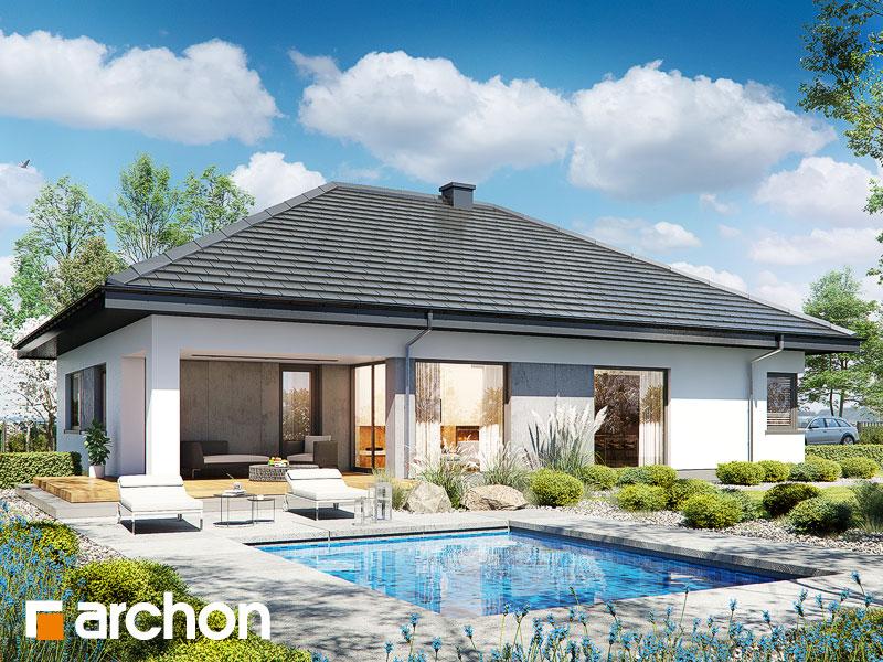 gotowy projekt Dom w cieszyniankach 12 (GE) widok 1