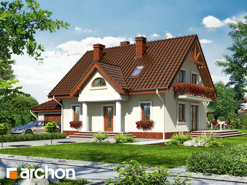 gotowy projekt Dom w truskawkach 2 (G) widok 1
