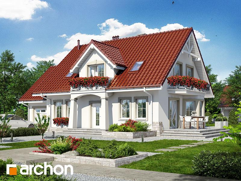 gotowy projekt Dom w lewkoniach 2 widok 1