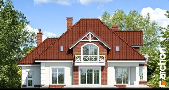 Elewacja ogrodowa projekt dom w nagietkach 2  267