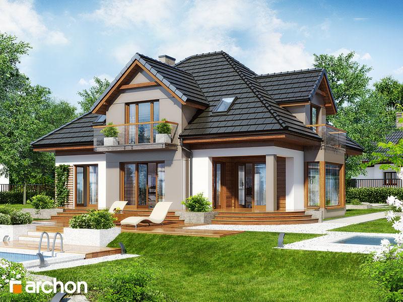 Projekt Domu Dom W Nagietkach 2 Archon