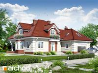 projekt Dom w nagietkach 2 widok 1