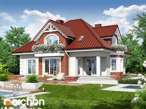 projekt Dom w nagietkach 2 widok 2