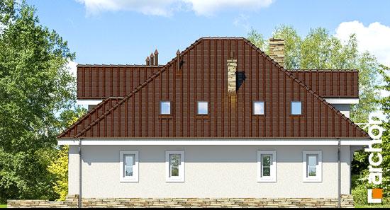 Elewacja boczna projekt dom w firletkach  265