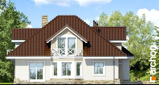 Elewacja boczna projekt dom w firletkach  266
