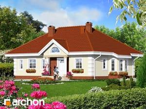 gotowy projekt Dom w oliwkach