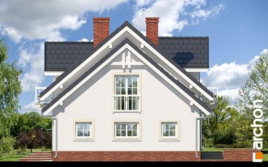 Elewacja boczna projekt dom w rododendronach 15 ver 2  265