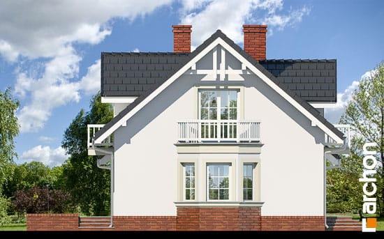 Elewacja boczna projekt dom w rododendronach 15 ver 2  266