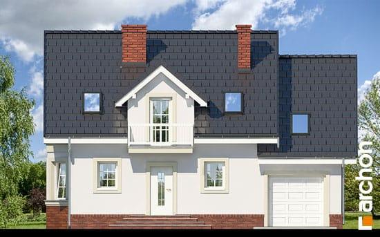 Elewacja frontowa projekt dom w rododendronach 15 ver 2  264