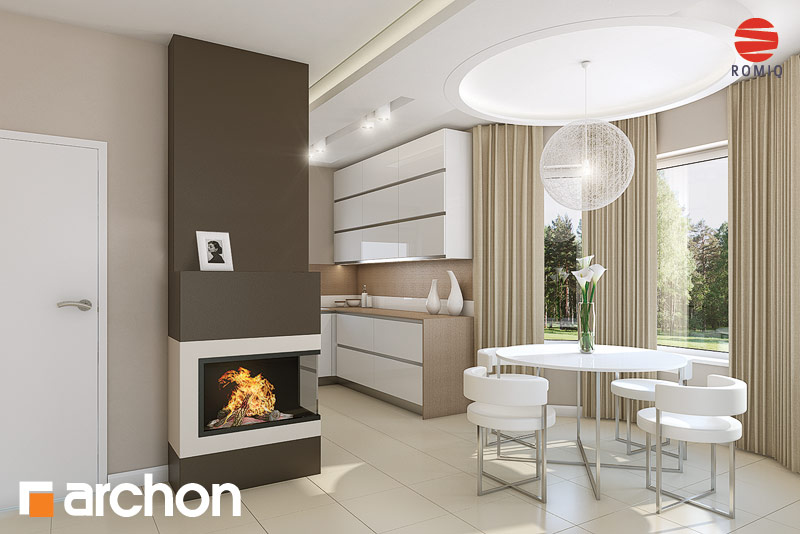 Projekt domu Dom w rododendronach 15 ver 2 Koszty budowy  ARCHON+ -> Kuchnia Elektryczna Koszty Eksploatacji