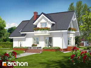projekt Dom w rododendronach 15 widok 2