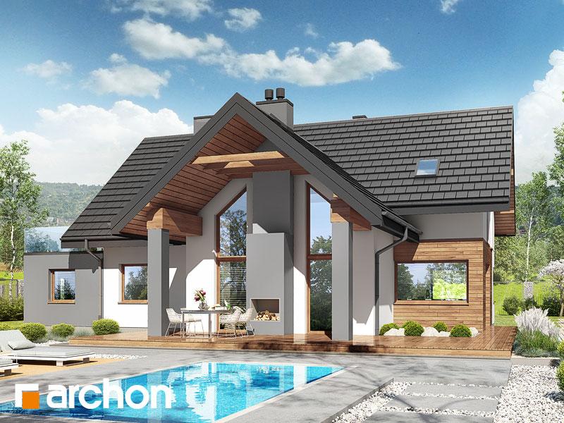 gotowy projekt Dom w brunerach 3 (G2) widok 1