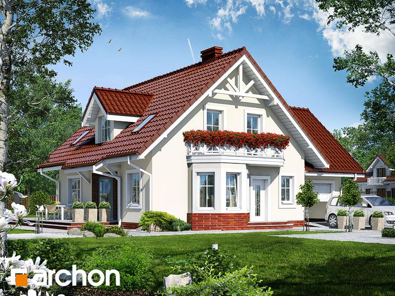 gotowy projekt Dom pod pistacją (G) widok 1