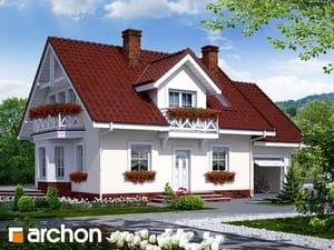 gotowy projekt Dom w rododendronach 6
