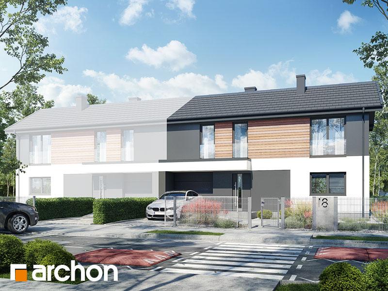 gotowy projekt Dom w iberisach (GB) widok 1