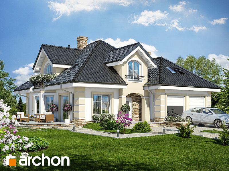 gotowy projekt Dom w dąbrówkach (G2) widok 1