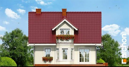 Elewacja boczna projekt dom w rododendronach 3 g  266
