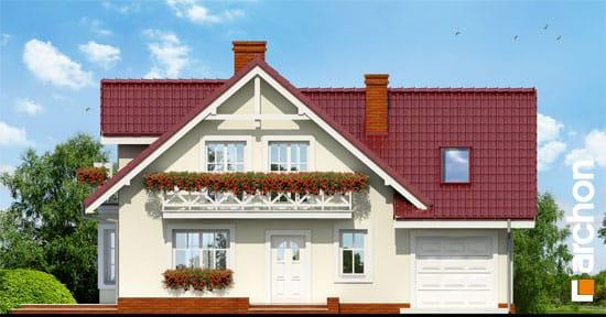 Elewacja frontowa projekt dom w rododendronach 3 g  264