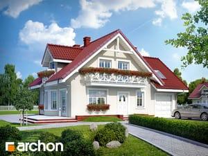 projekt Dom w rododendronach 3 (G)