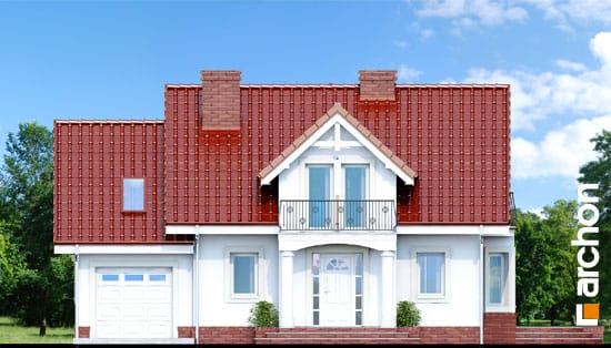 Elewacja frontowa projekt dom w kosowce  264
