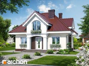 gotowy projekt Dom w robiniach