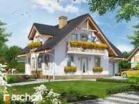 projekt Dom w rododendronach 7