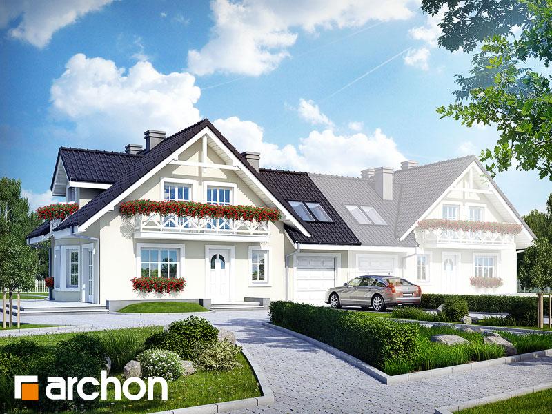 gotowy projekt Dom w rododendronach 3 (GB) widok 1
