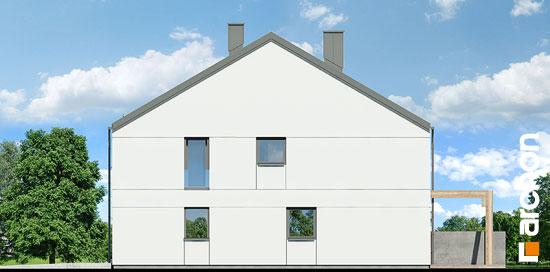 Elewacja boczna projekt dom pod milorzebem 12 gb  265