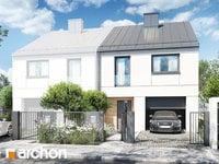 projekt Dom pod miłorzębem 12 (GB) widok 1