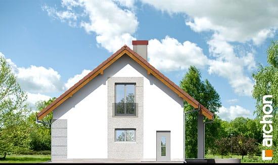 Elewacja boczna projekt dom w wisteriach 2 ver 2  265